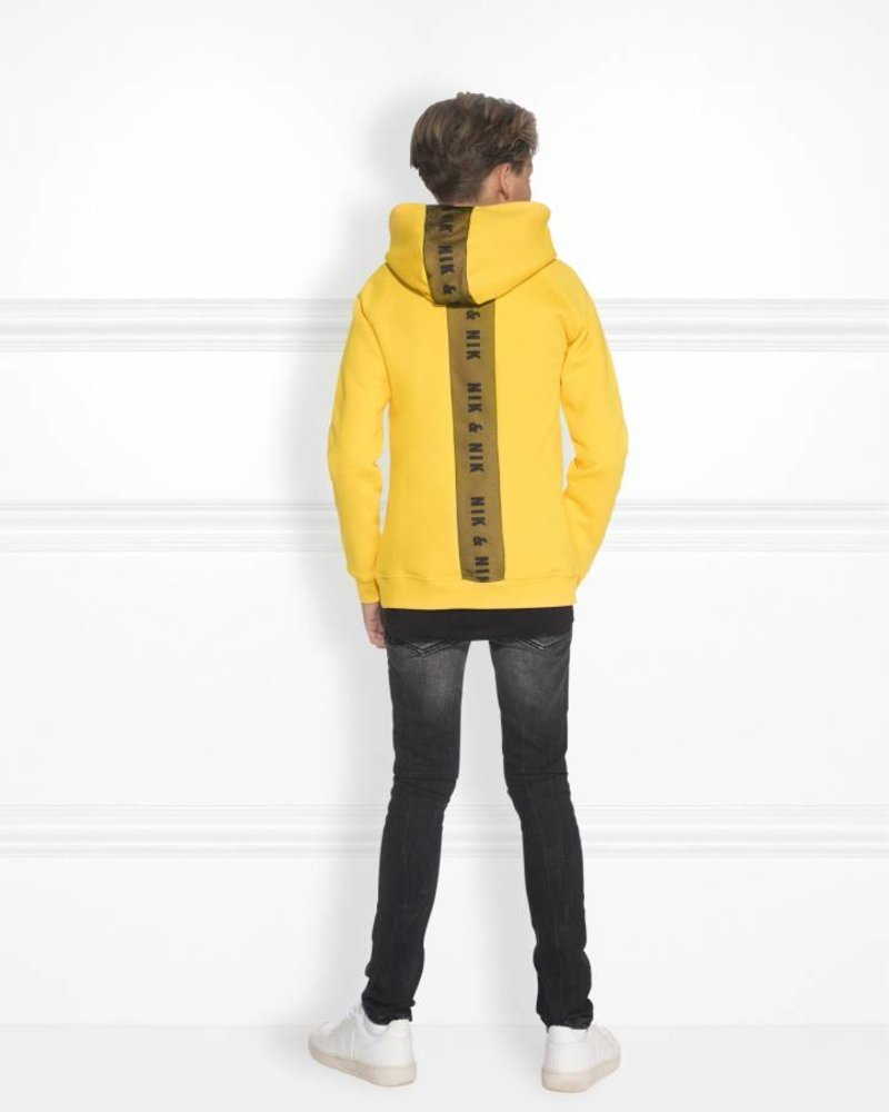 NIK & NIK Hoody Percie Color: yellow