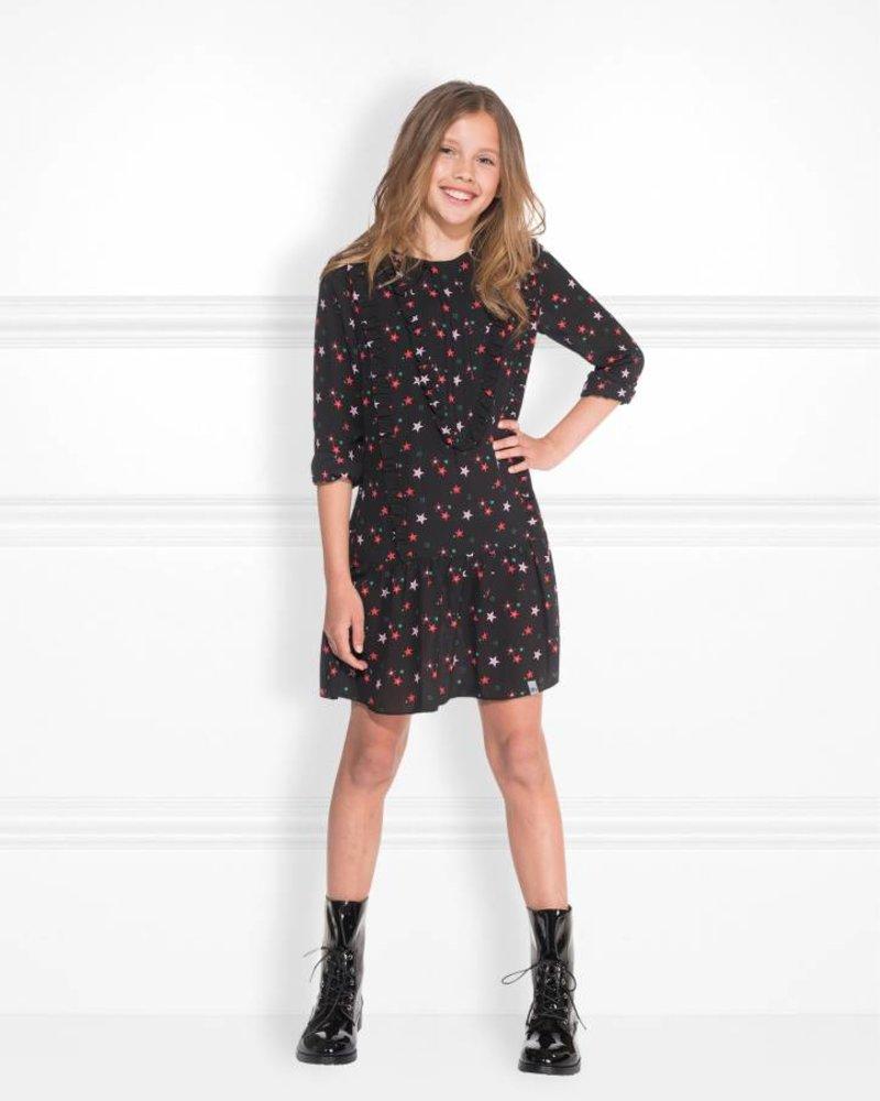 NIK & NIK Girls dress Bobby Color: black