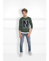 NIK & NIK Boys sweater Color: wood green