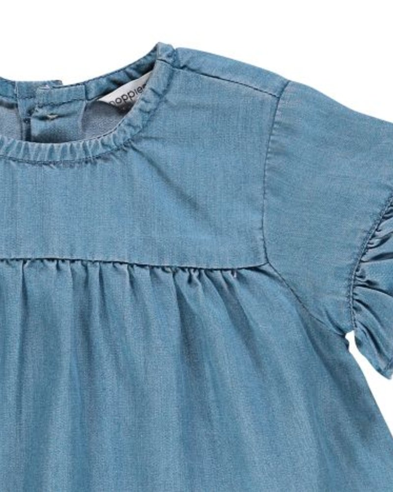 Noppies Girls drees Poulsbo Color: light blue wash