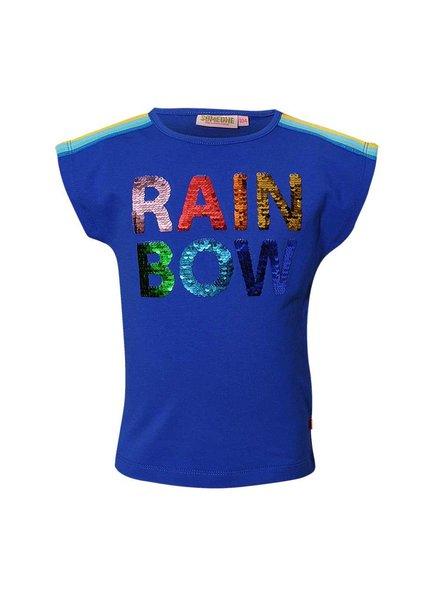 Someone Rainbow shirt kobalt