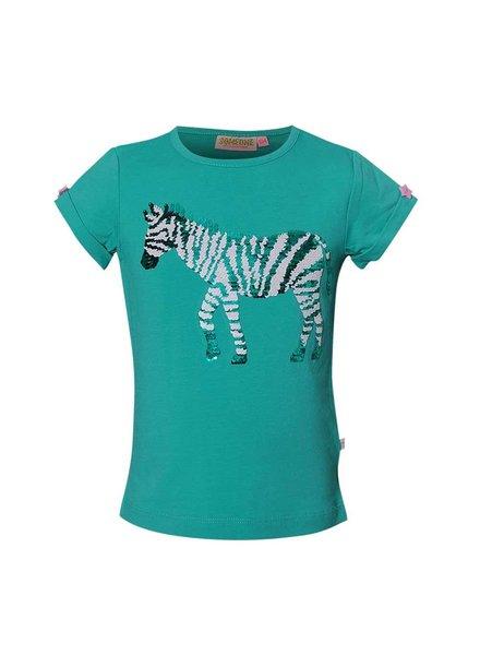 Someone Shirt Zaia dark mint