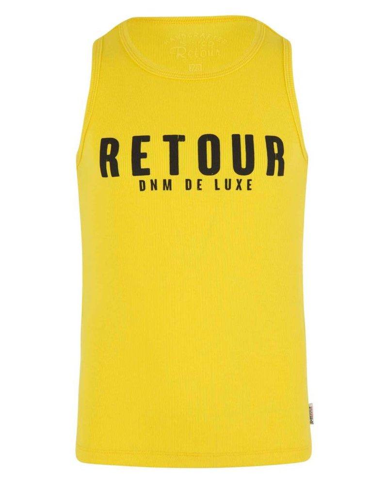 Retour Hemdje Sheila - bright yellow