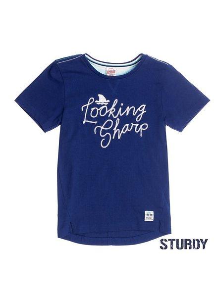 Sturdy T-shirt looking sharp scuba