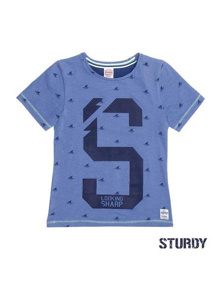 Sturdy T-shirt shark aop