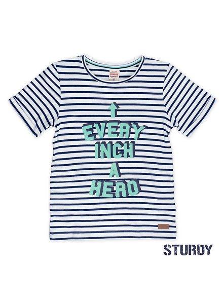 Sturdy T-shirt streep every inch