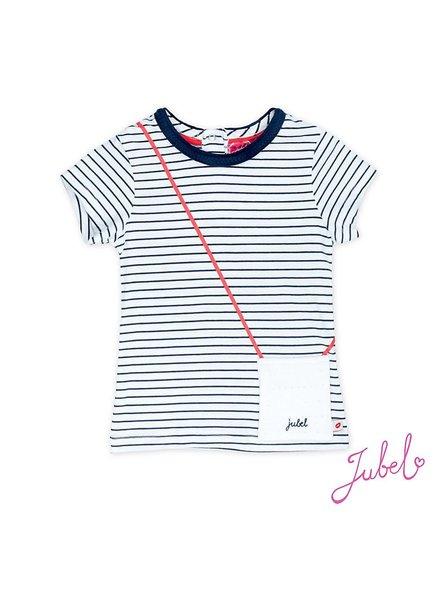 Jubel T-shirt streep Sea view