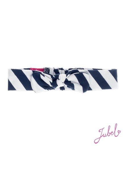 Jubel Haarband streep marine