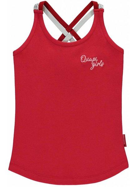 Quapi kidswear  Tanktop Savanna Rouge red