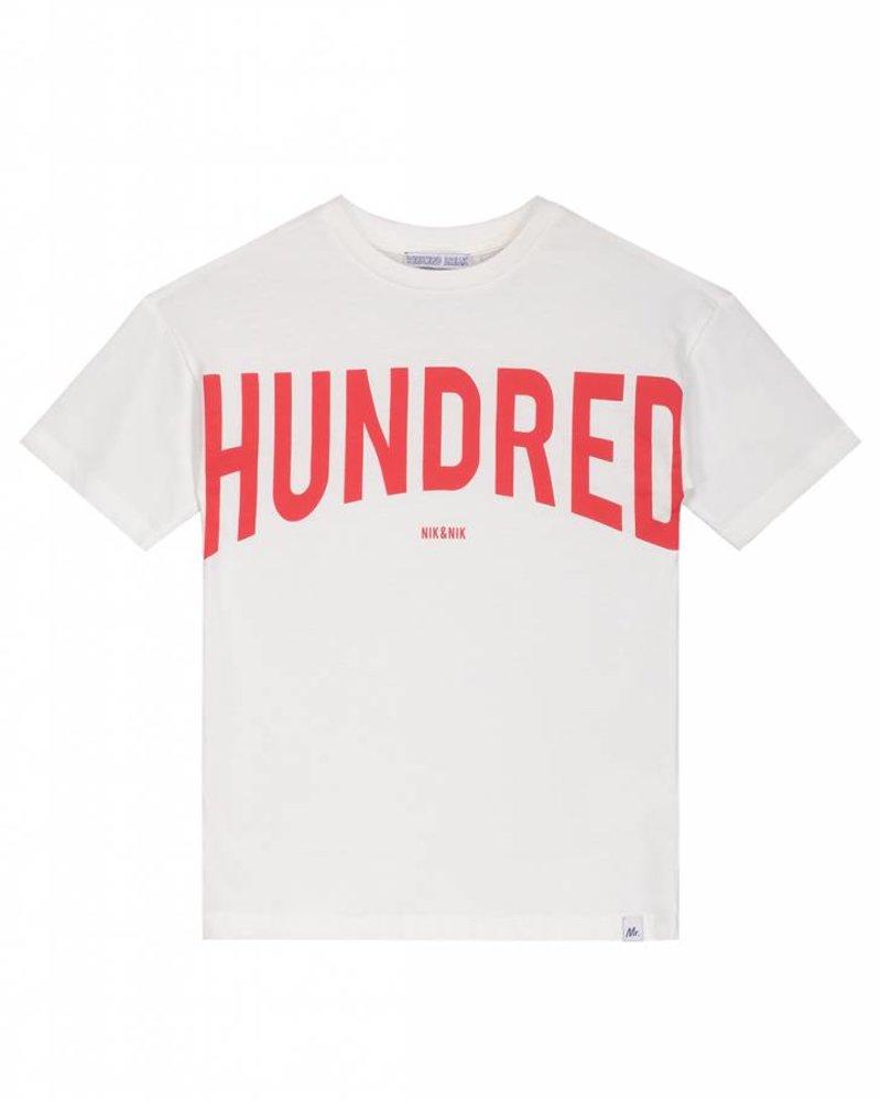 NIK & NIK Hundred t-shirt off white