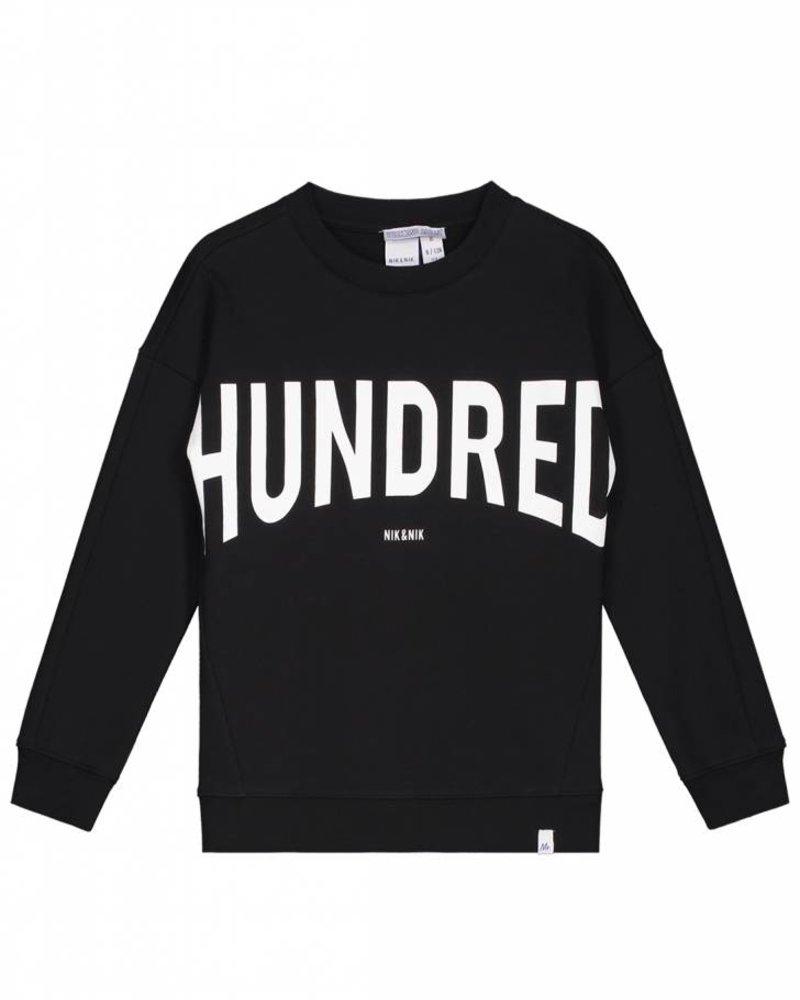 NIK & NIK Hundred sweater black