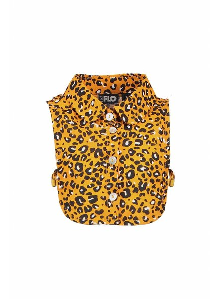 Like Flo Flo girls animal loose collar - oker panther