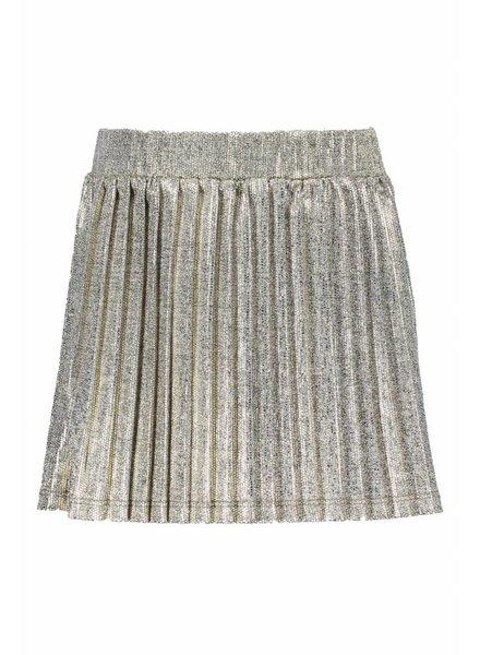 Like Flo Flo girls metallic plisse skirt