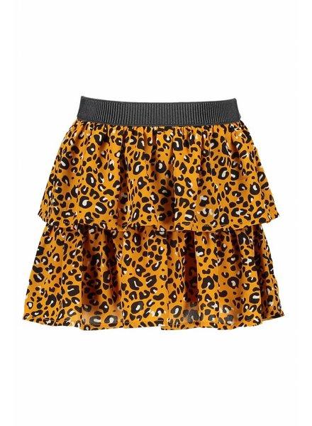 Like Flo Flo girls oker panther skirt