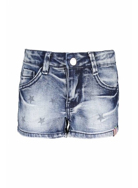 B.nosy Girls star short denim