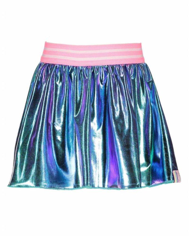 B.nosy Girls fake leather skater skirt