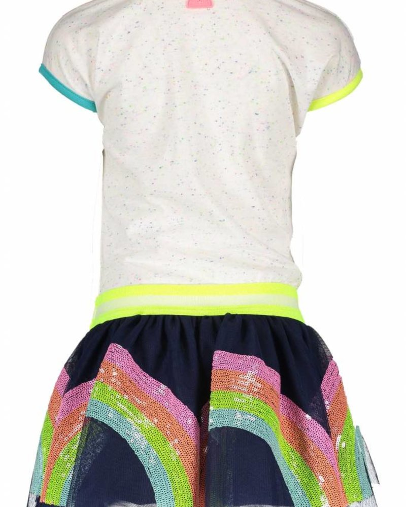 B.nosy Girls rainbow dress