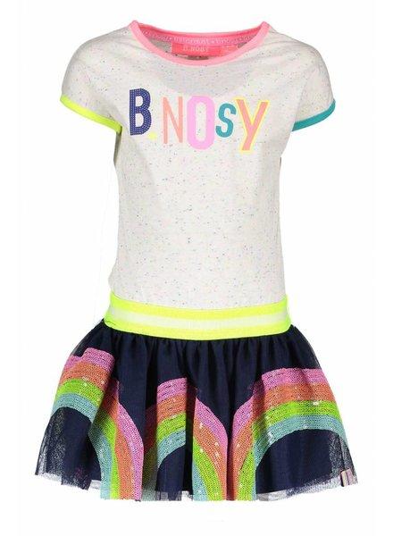 B.nosy Girls rainbow dress