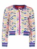 Kidz Art Baseball cardigan allover print