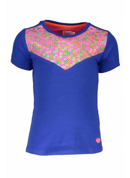 Kidz Art T-shirt multicolour sequins panel