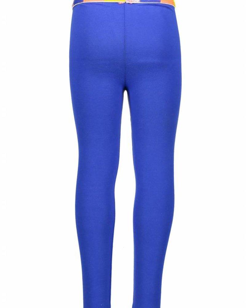 Kidz Art Legging plain with multicolor waist - dark blue
