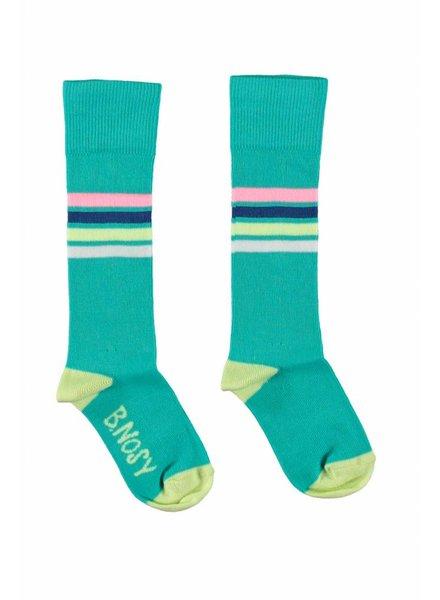 B.nosy Girls socks hot turquoise