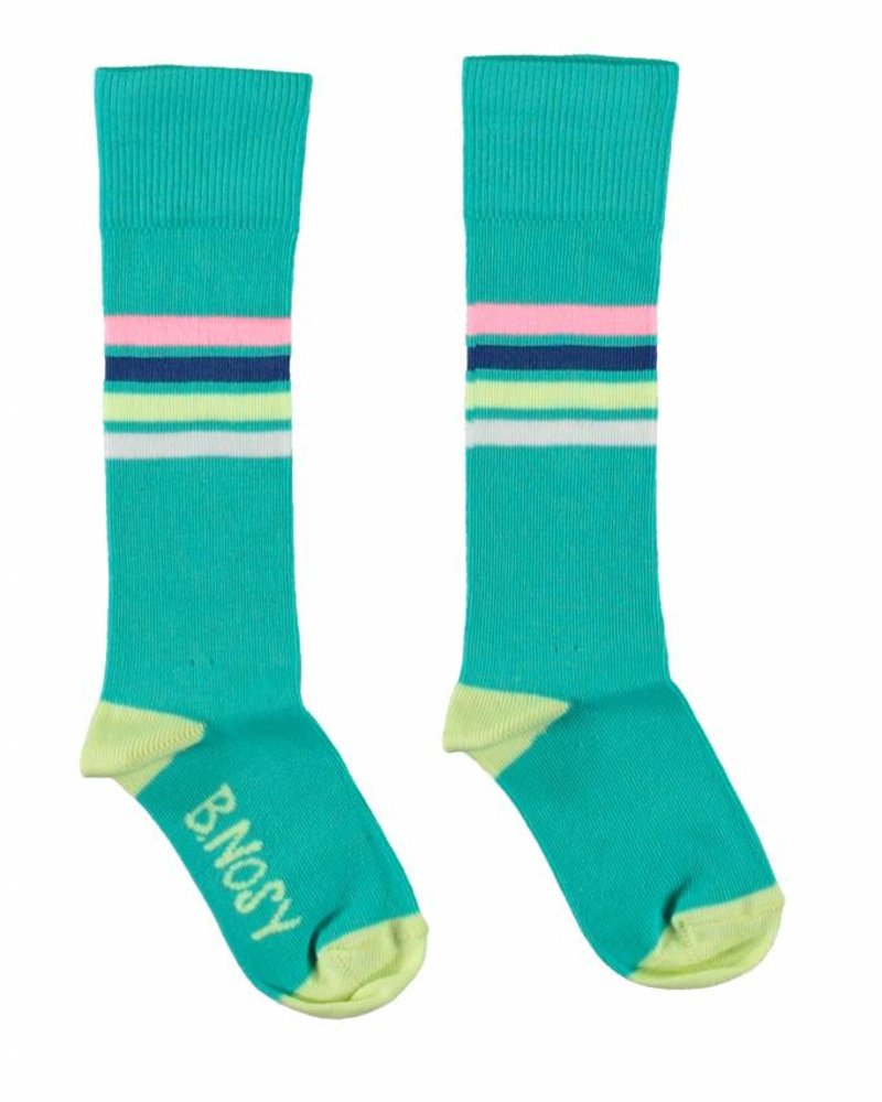 B.nosy Girls socks hot turquoise
