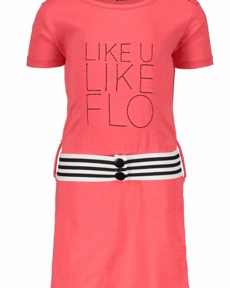 Like Flo Flo baby girls jersey ruffle dress