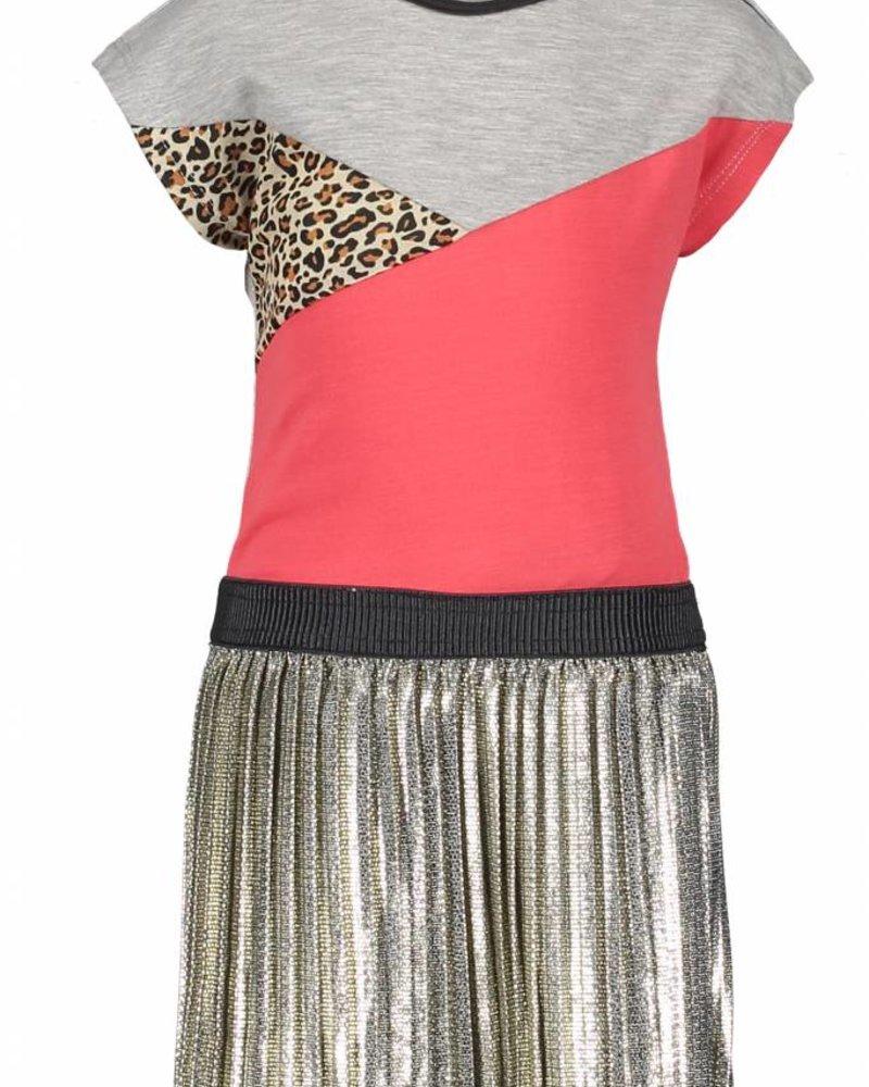 Like Flo Flo baby girls colour block dress