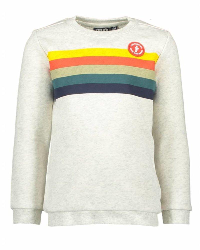 Like Flo Flo boys sweater ecru melee