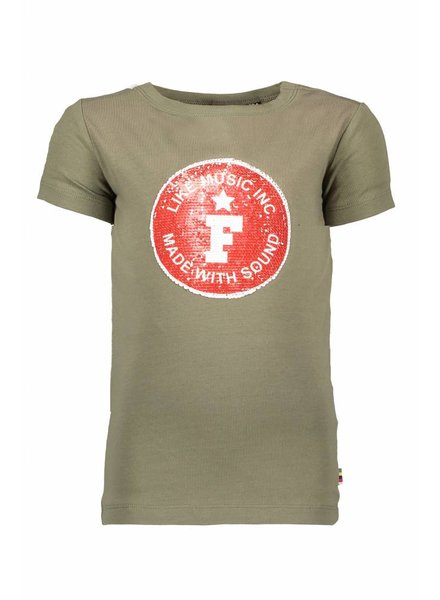 Like Flo Flo boys tee army