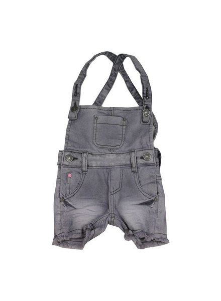 Koko Noko Salopette shorts grey denim
