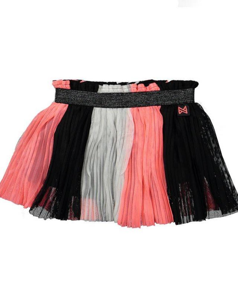 Koko Noko Skirt neon peach - black - white