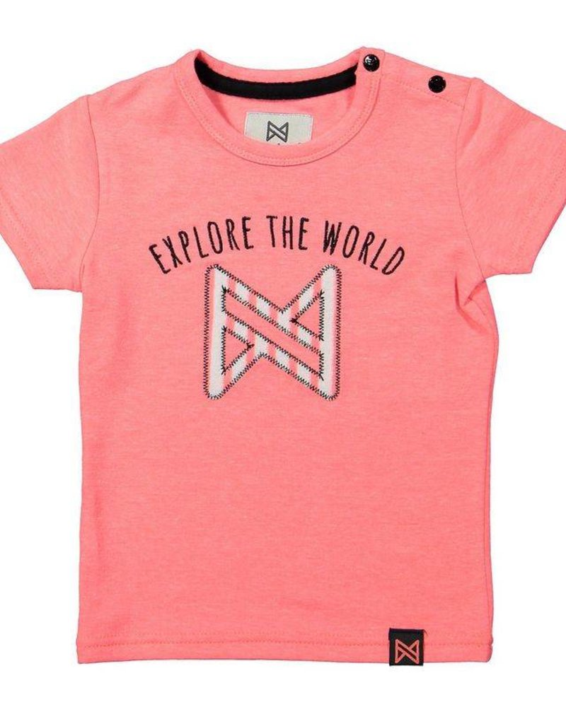 Koko Noko T-shirt neon peach