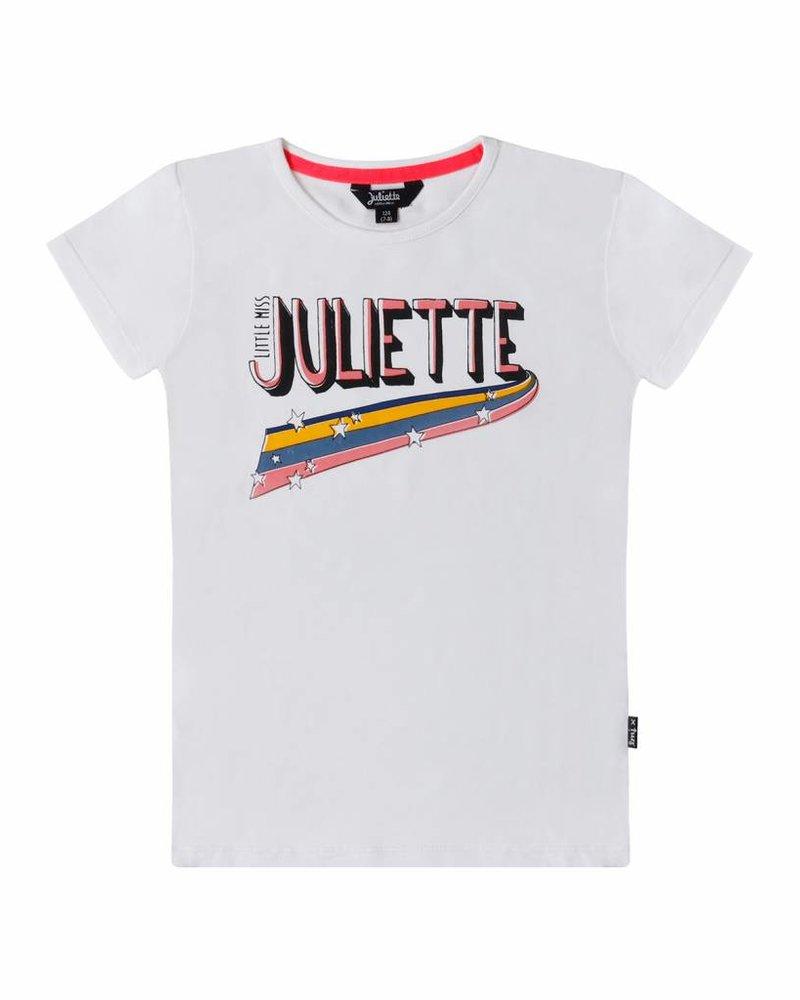 Little Miss Juliette Shirt Juliette - white