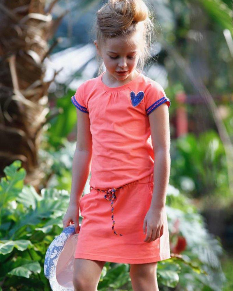 TOPitm Dress Karen - neon orange