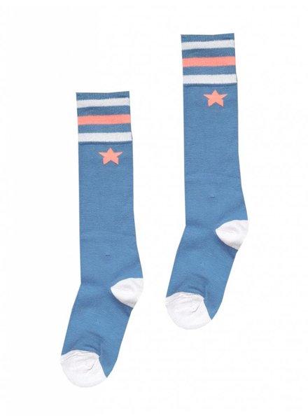 TOPitm Socks jeans blue