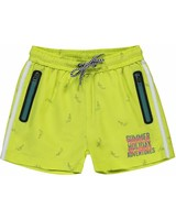 Quapi kidswear  Swim short Sido - fresh yellow toucan