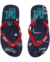Quapi kidswear  Flipflops Stoney - navy text