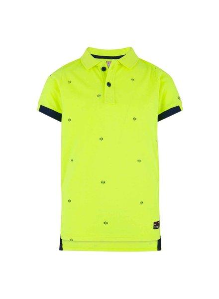 Retour Poloshirt Gustav - neon yellow