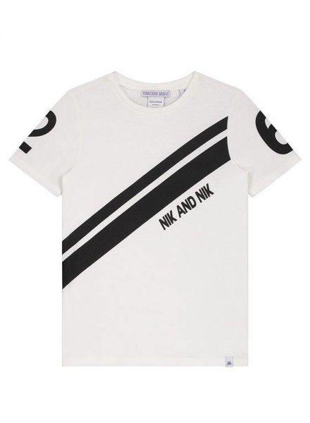 NIK & NIK Henk t-shirt white