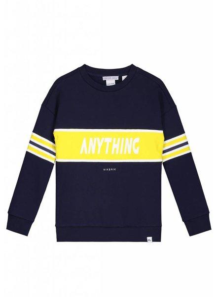 NIK & NIK Anything sweater dark blue