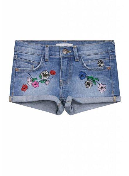 NIK & NIK Femke shorts blue denim