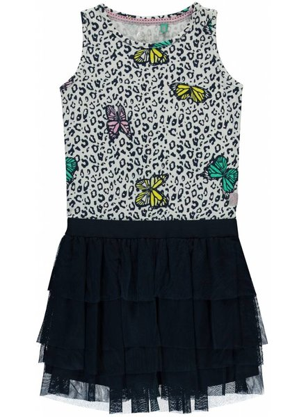 Quapi kidswear  Dress Sandira - multi butterfly