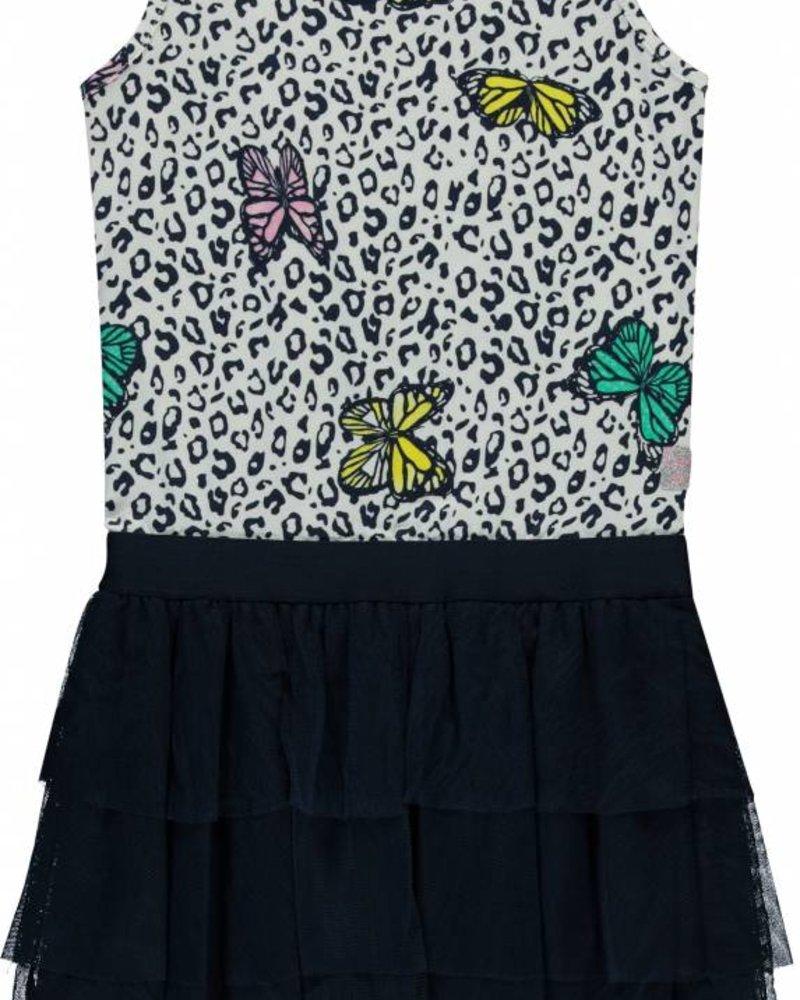 Quapi kidswear  Dress Sandira - multi butterfly