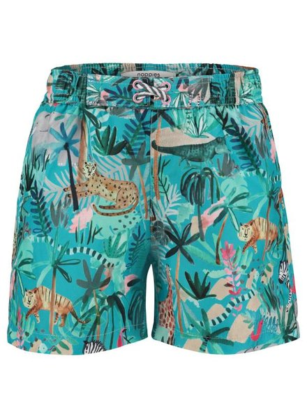 Noppies Boys swimwear Trunk Color: bluebird