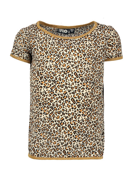 Like Flo Flo girls woven animal top