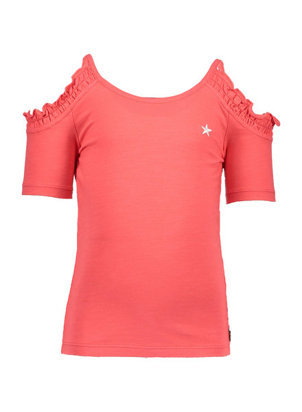 Like Flo Flo girls open shoulder top