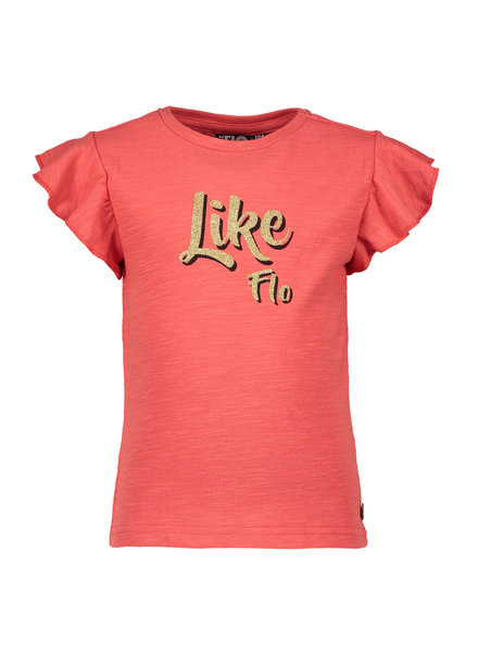 Like Flo Flo girls jersey ruffle top