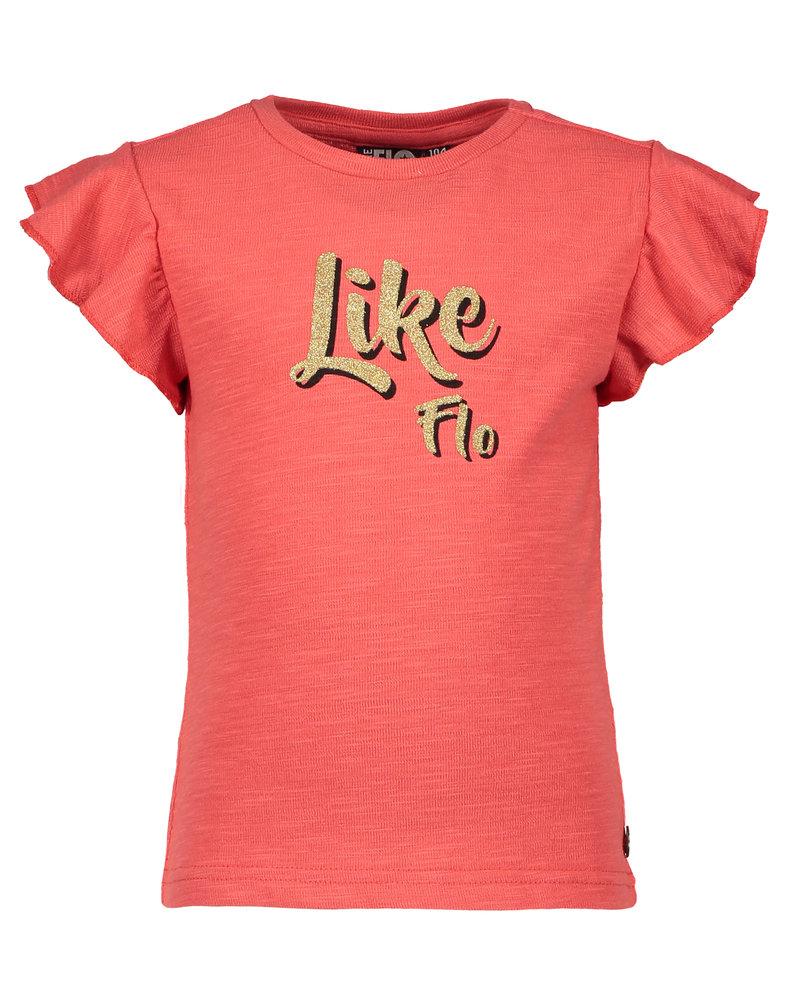Like Flo Flo girls jersey ruffle top